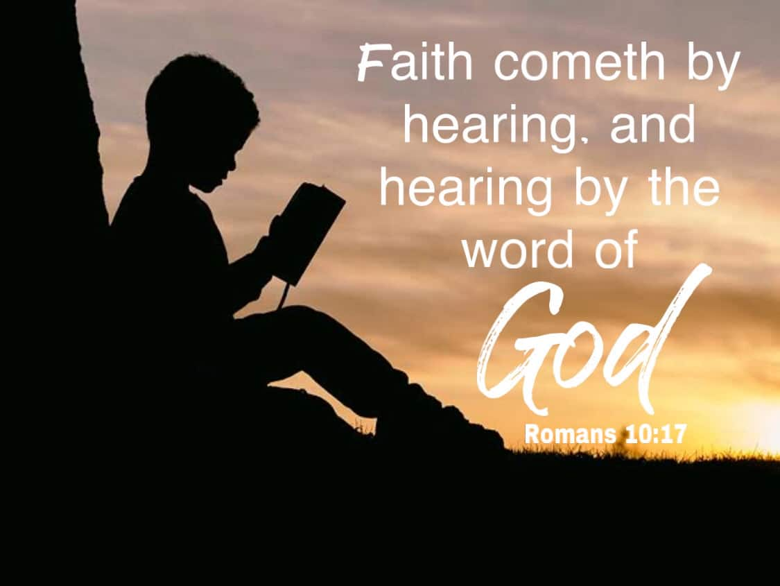 Faith by hearing