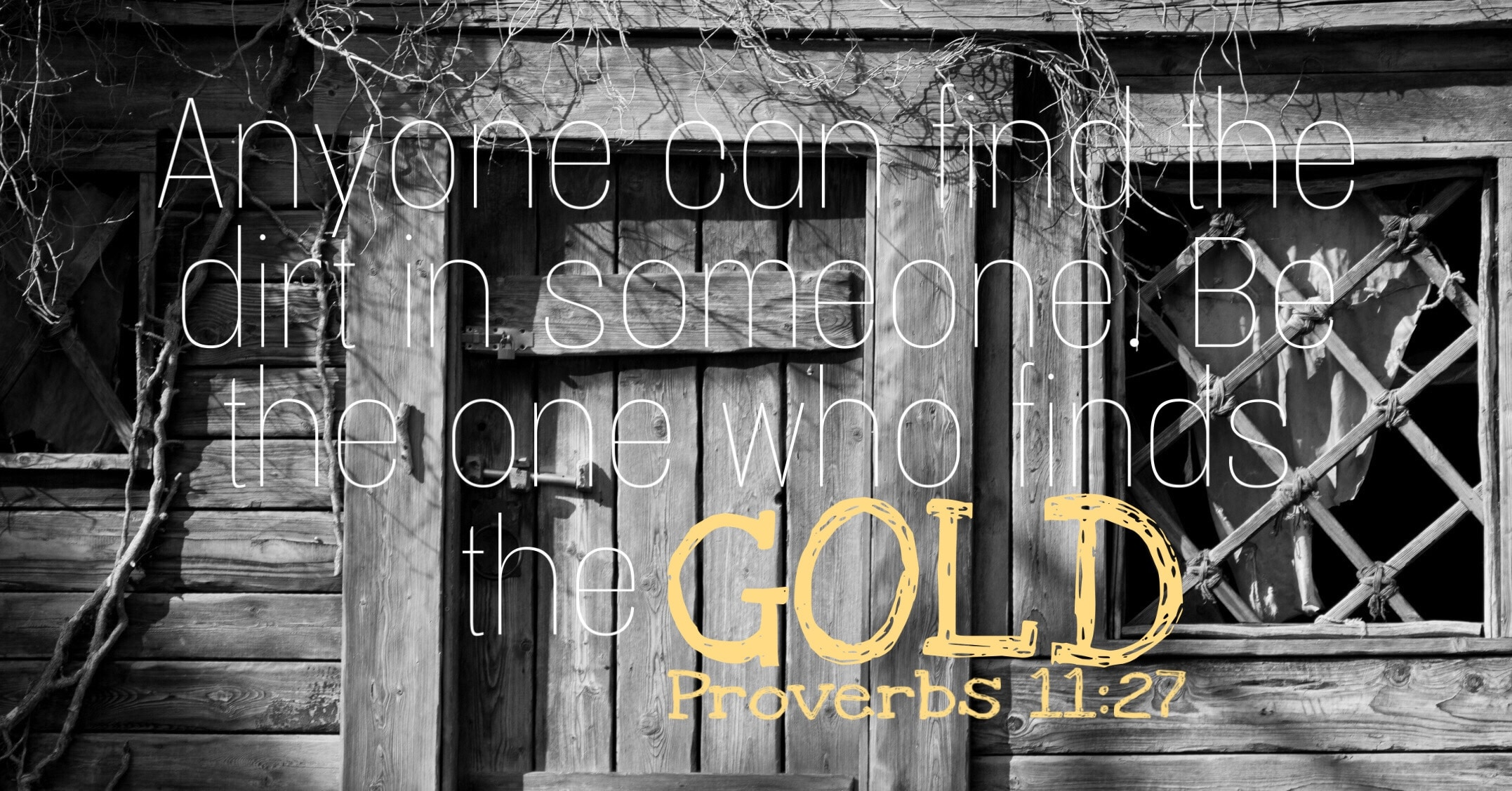 Be the one to finds the Gold